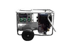 Génératrice HF Diesel HATZ - Démarrage Electrique - 115V