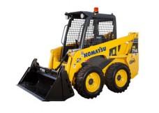 Minichargeur Diesel - 2T5 - Pneu - Komatsu - SK714-5