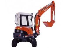 Minipelle 3T5 Diesel - Cabine - Kubota - U35-3