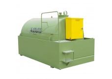 Cuve à Fuel Equipée 220V - Bassin de rétention + Toit - 1300L
