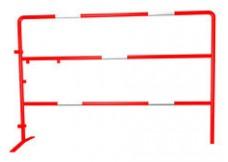 Barrière de Chantier - Rouge - 1m x 1.5m