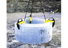 Elingue Lève Buse - 3T - Largeur de Buse 40-120mm - Levac - 4391G